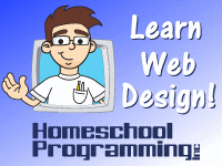 web design lessons for kids