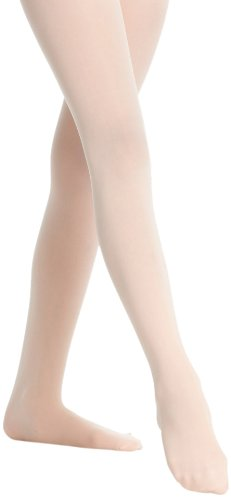 Danskin Girls' Microfiber Footed Tight