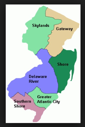New Jersey Areas