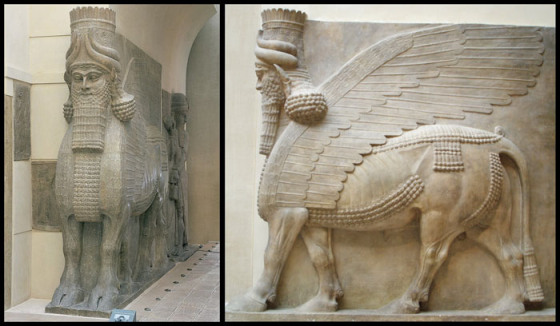 Lamassu are Mesopotamian protective deities or spirits.