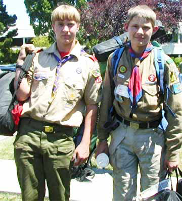 Homeschool Boy Scouts
