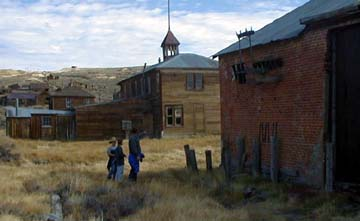 Jim, a lineman for PG&E, was fascinated by the Hydroelectric Building and Power Substation at Bodie, CA, ghost town.