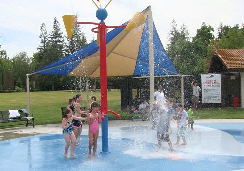 Splash Parks, Spray Parks, or parks with Water Features