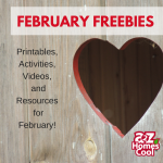 February Homeschool Freebies
