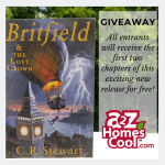 Learn more about the new book Britfield & the Lost Crown and enter to win a signed copy!