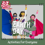 Earth Day is a great time to work science and math into your curriculum. Your kids can feel like heroes when they learn how to go green!