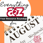 Everything A2Z: Resource Roundup for August Thumbnail