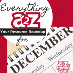 Everything A2Z: Resource Roundup for December Thumbnail