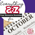 Everything A2Z: Resource Roundup for October Thumbnail