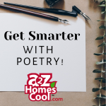 Learn how and why you should teach poetry in your homeschool and find fun ways to connect it to MATH!