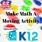 Make math a moving activity! Get the children's mind working as well as their body with fun physical math activities.