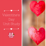 Valentine's Day projects: crafts, logic, geometry, crossword puzzles, and science experiments.