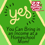 "Think outside the ""stay at home mom jobs"" box. There are many ways that your awesome self can bring in an income. The possibilities are endless!"